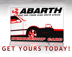 The ABARTH Membership Card – Get yours today!