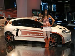 Abarth's return to Motorsport celebrated